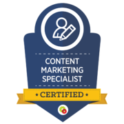Certified Content Marketing Specialist - Call To Actions