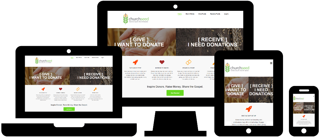 Wordpress Website Design: Church Seed