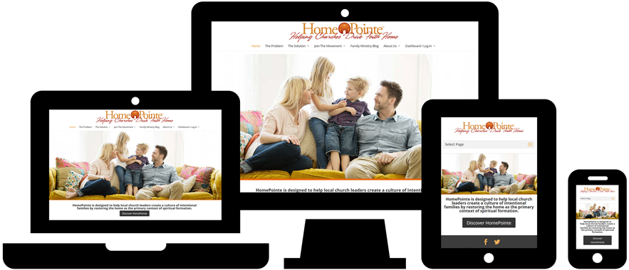 Wordpress Website Design: HomePointe