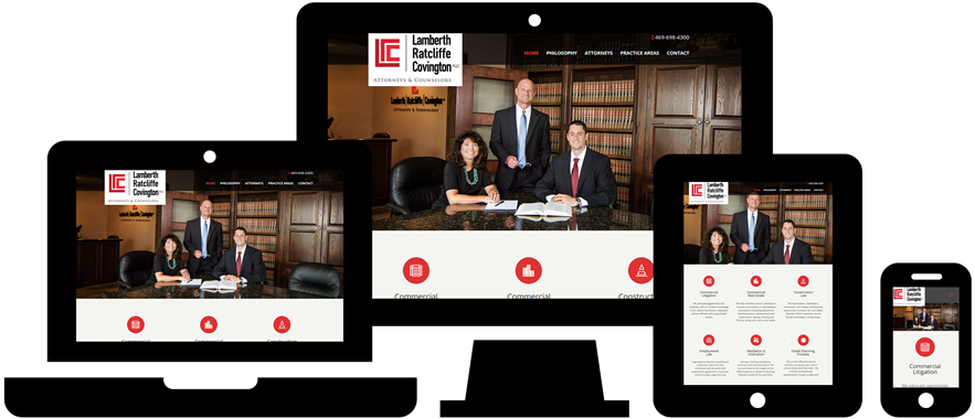 Wordpress Website Design: LRC Legal
