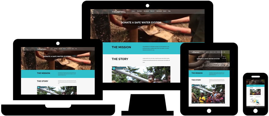 Wordpress Website Design: The Last Well
