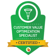 Certified Value Optimization Specialist - Call To Actions