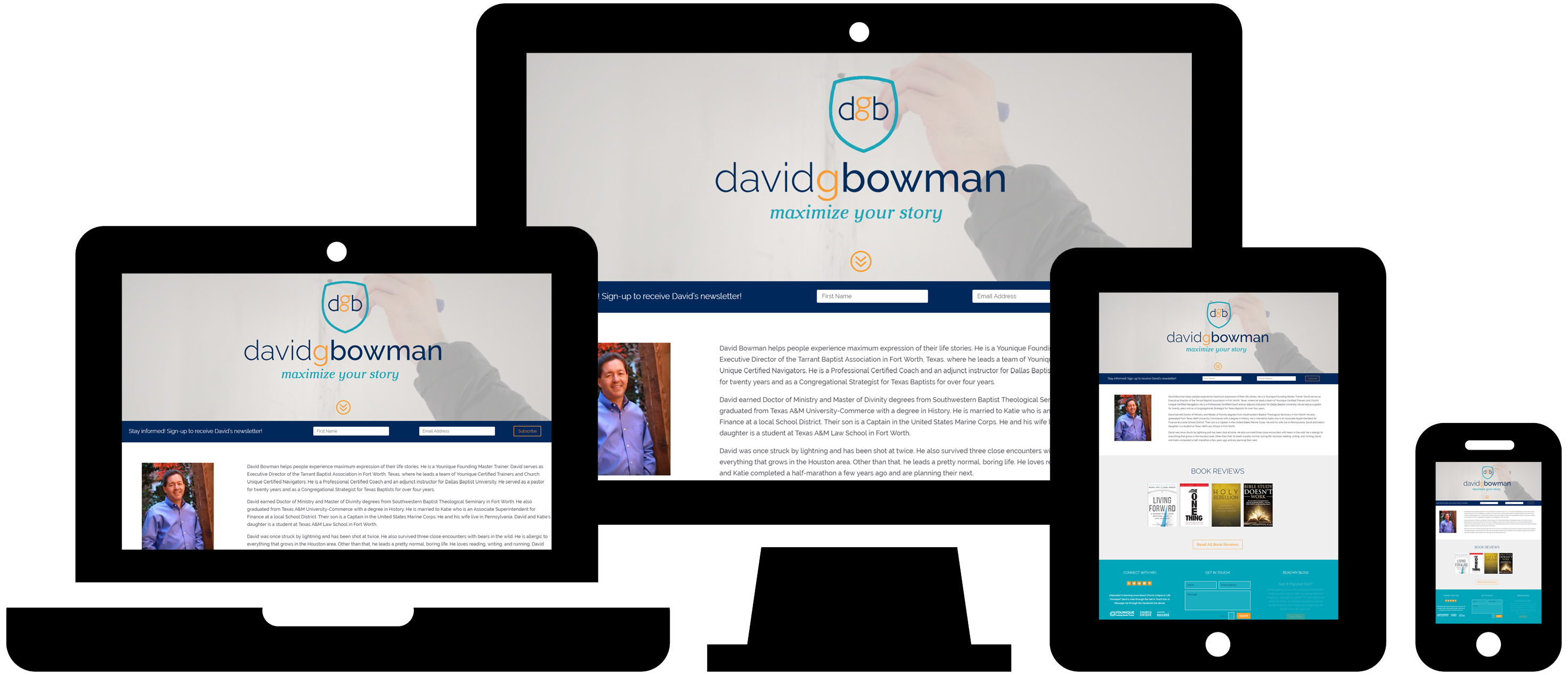 Wordpress Website Design: David G Bowman