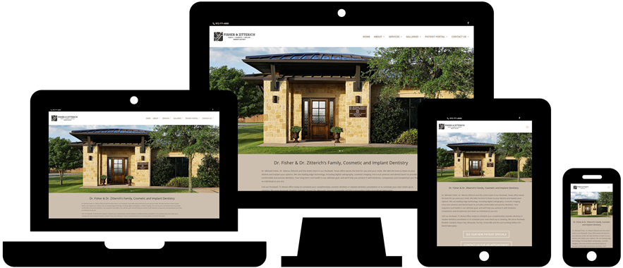 Wordpress Website Design: Fisher & Zitterich Dentistry